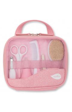 Nuvita Набор по уходу за ребенком Большой 0м+ розовый NV1146PINK