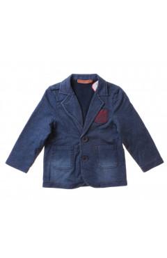 Джинсовая куртка для мальчика, индиго, р.92,98,110,116 Valenza Турция