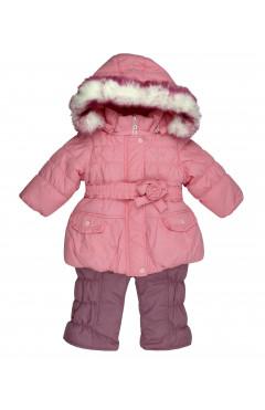 Зимний комплект куртка и штаны для девочки