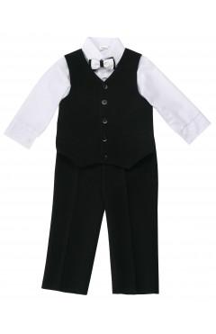 Костюм брюки,рубашка,жилет,бабочка