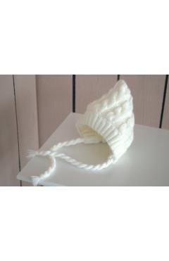 Зимняя шапка унисекс с трикотажем