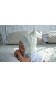 Зимняя шапка унисекс с махрой