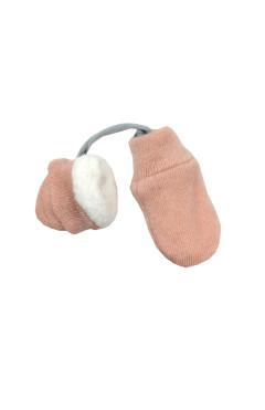 Рукавицы  для девочки (с махрой внутри)