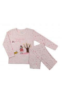 Пижама с длинным рукавом для девочки