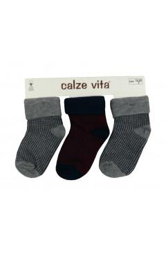 Набор носок хлопковых унисекс (3 пары)