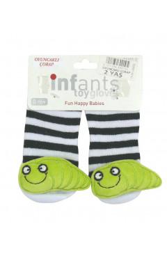 Носки-игрушка для мальчика