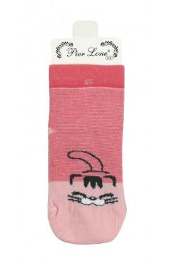 Носки хлопковые антискользящие для девочки