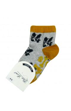 Носки хлопковые антискользящие унисекс