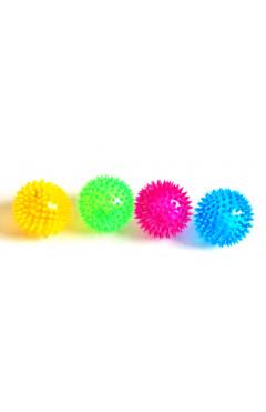 Мячик-ежик маленький,светится