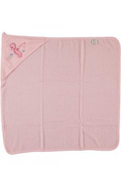 Полотенце махровое после купания для девочки
