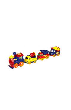 Железная дорога с вагончиками на магнитах