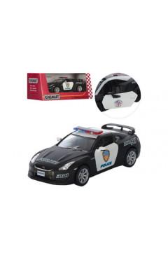 Машика металлическая Nissan GT-R R35(police)