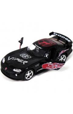Машинка металлическая Dodge Viper GTS-R