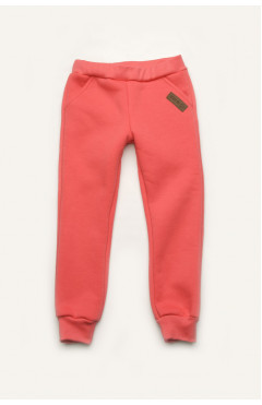 Утепленные спортивные штаны для девочки