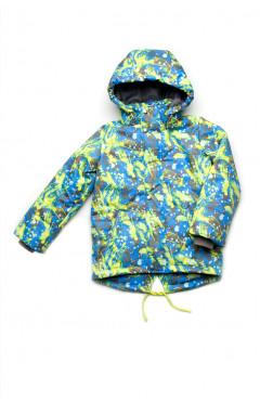 Детская куртка для мальчика, демисезонная, зеленый, р.122,128,134, Модный карапуз Украина