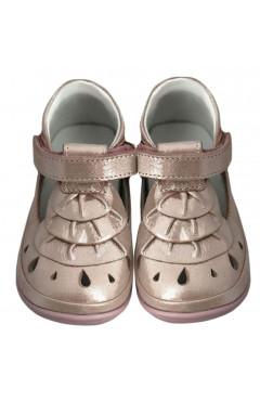 Детские ортопедические туфли для девочек, кожа, для первых шагов Perlina р. 18, 20