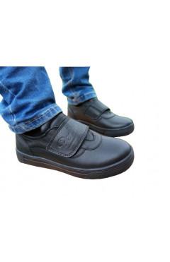 Детские ортопедические туфли для мальчиков, кожа, Perlina р. 40, 39