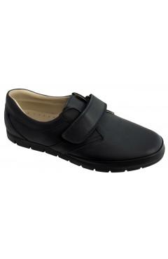 Детские школьные туфли для мальчиков, ортопедические, кожа, Perlina р. 37, 39, 40