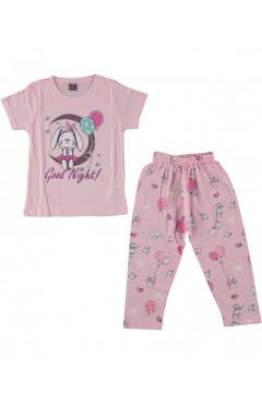 Пижама с коротким рукавом для девочки