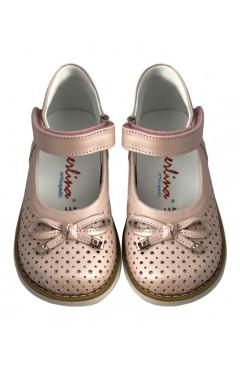 Детские туфли ортопедические для девочек кожа, Perlina р. 23, 24, 25