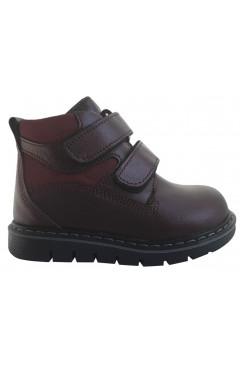 Детские ортопедические ботинки для девочки, кожа, флис Perlina р. 22, 23