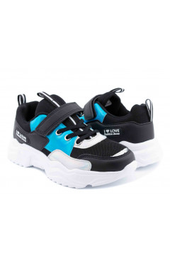Детские кроссовки для девочки, экокожа, текстиль, American Club р. 32, 33, 34, 35, 36