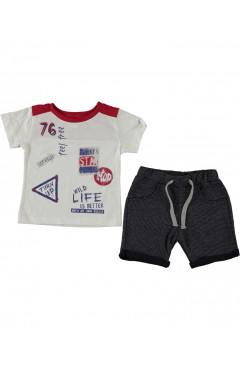 Футболка и шорты для мальчика