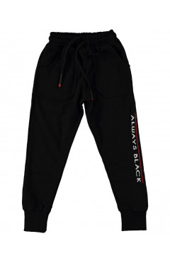 Детские спортивные штаны, для мальчика, черные,р.92,104,116,128,Mago boys Турция