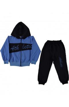 Детский спортивный костюм,для мальчика,синий-т.синий,р.110,116,122,128,Carmina Турция