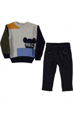 """Комплект одежды для мальчика """"Микки"""", хлопок, р. 86,92,98 Maisonette Турция"""