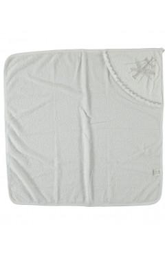 Крыжма, для девочки, белый, хлопок, р. 90*100 Ramel Турция