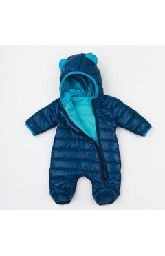 Комбінезон для новонародженого, для хлопчика, синій, плащова тканина, р.62,68,74 Ляля Україна