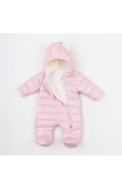 Комбинезон для новорожденного, для девочки, розовый, плащевая ткань, р.62,68,74 Ляля Украины
