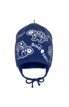 Демисезонная шапка для мальчика, синий, хлопок, р.42,44,46 Davids Star Украина