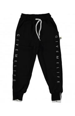 Детские спортивные штаны, для девочки, черный, хлопок, р.134,140,146,152 Misil Турция