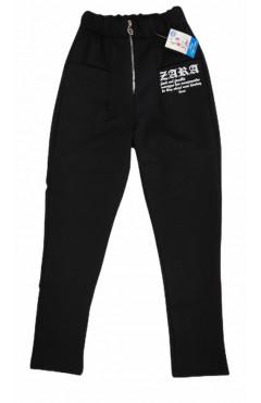 Штаны для девочки, черный, хлопок, р.134,140,146,152,158 Дім Герлена Украина