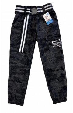 Штаны для девочки, серый, хлопок, р.116,122,128 Дім Герлена Украина