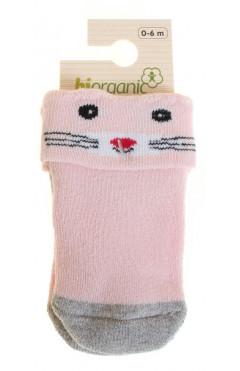 Махровые носки для девочки