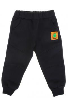Детские спортивные штаны, для мальчика, утепленные, черный, р.86,92,98,104, Joi Турция