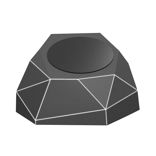 Беспров.зар. устр-во для моб. тел.XOOPAR-GEO DOCK(черн.,бел.LED, microUSB-каб для пит.от порта USB)