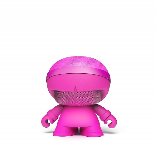 Акуст. стереосистема XOOPAR - XBOY GLOW(12cm,роз.,Bluetooth,MP3/SD-карт,микроф.,аудио&USB-каб.,LED)
