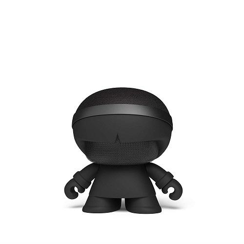 Акуст. стереосистема XOOPAR - XBOY GLOW(12cm,чёр.,Bluetooth,MP3/SD-карт,микроф.,аудио&USB-каб.,LED)