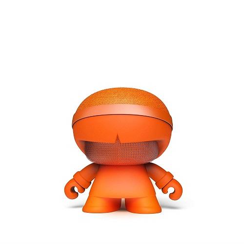 Акуст. стереосистема XOOPAR - XBOY GLOW(12cm,оранж.,Bluetooth,MP3/SD-карт,микр.,аудио&USB-каб.,LED)