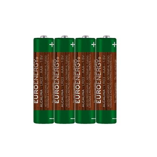 Батарейка SUPER ALKALINE.размер AAA (LR03).напряж.:1.5В.цил. формы (1 шт. из термоусад.пленки)