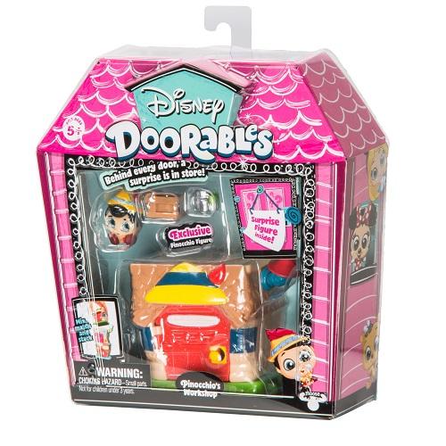 Игровой набор DISNEY DOORABLES - ПИНОККИО (2 героя, домик, аксессуар)
