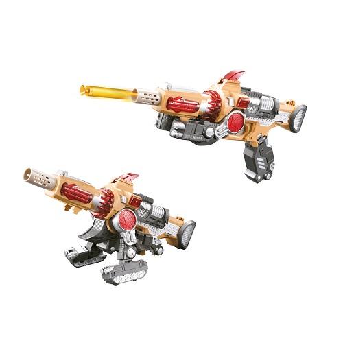 Баттлбот - трансформер – ПУШКА (30 cm, бластер, мишень, 20 стрел)