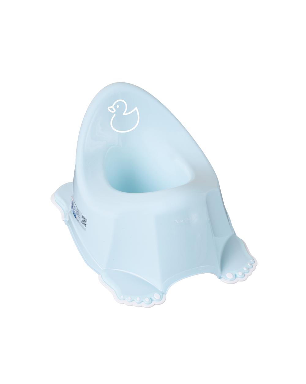 Горшок Tega Duck DK-001 нескользящий 129 light blue