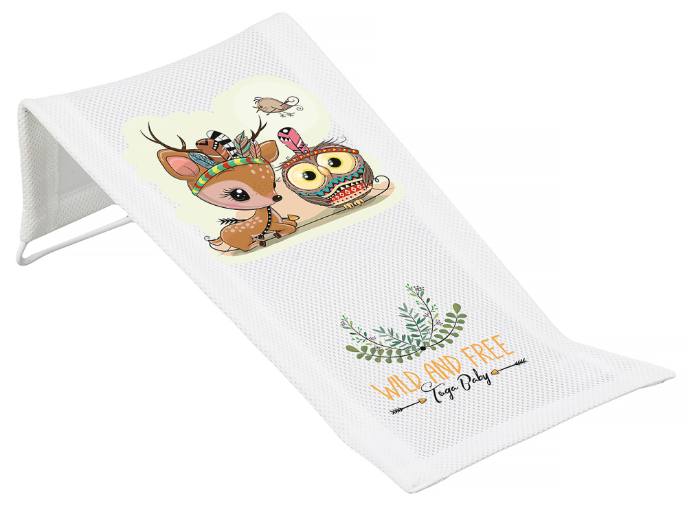 Горка для купания Tega Wild & Free Little Deer DZ-026 (сетка) 103 white