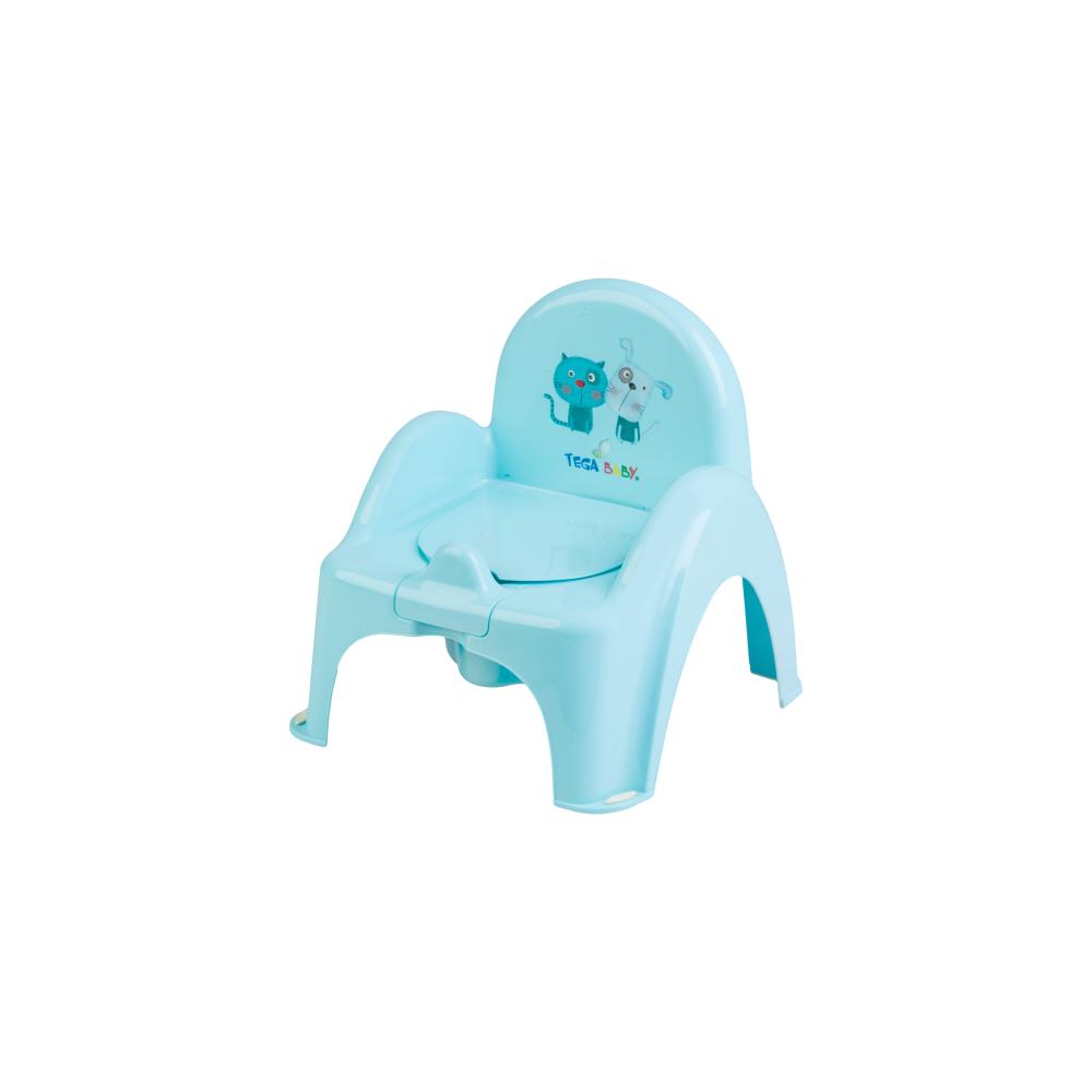 Горшок-стульчик Tega Dog & Cat PK-007 101 light blue