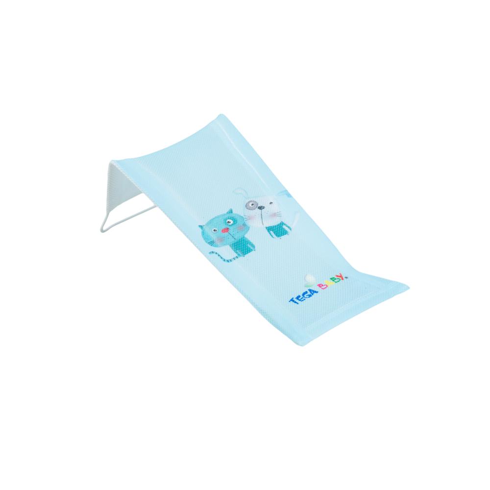 Горка для купания Tega Dog & Cat PK-026 (сетка) 101 light blue